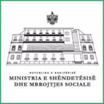 Albania Ministria e Shendetesise Dhe Mbrojtjes Sociale Logo